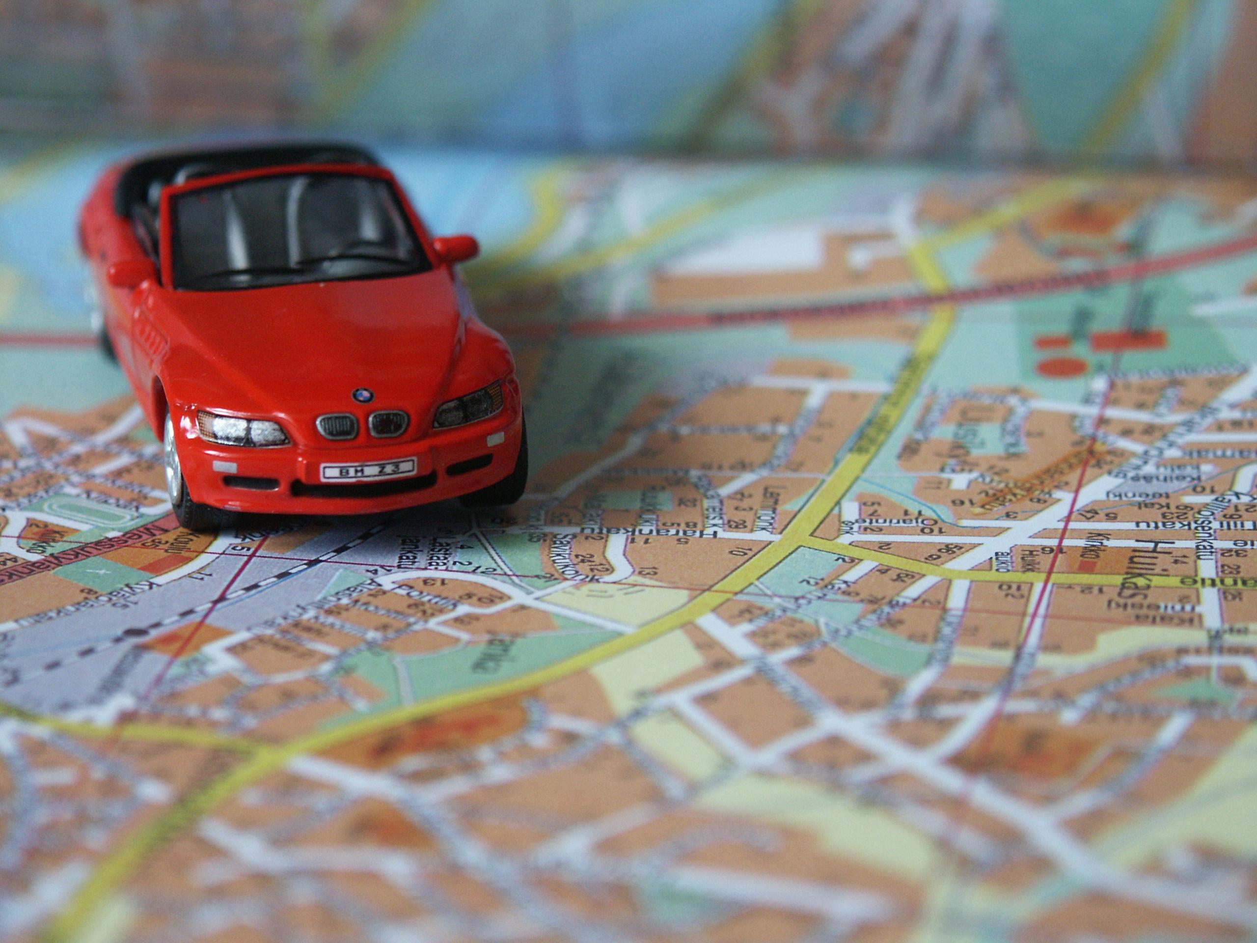 BMW na mapie